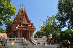 WatPrako siamesischer Tempel Lizenzfreie Stockfotografie
