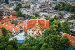Wats och tempel av Bangkok Arkivfoton