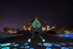 Watsirindhornwararam a Ubonrachathani, Tailandia Fotografie Stock