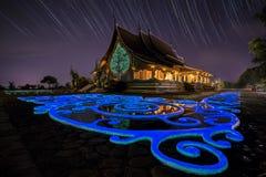 Watsirindhornwararam a Ubonrachathani, Tailandia Immagine Stock