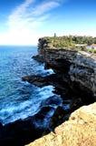 Watson Bay Cliff Sydney Stockfoto