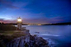 Watson Bay Lighthouse photos libres de droits
