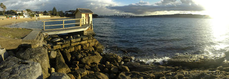 Watson bay panorama Stock Photo