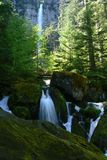 Watson Falls. Park, Hwy 138, Oregon Royalty Free Stock Photo
