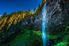 Watson Falls. Clearwater River Douglas County Oregon Royalty Free Stock Photo