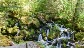 Watson Falls, Oregon Stock Photo