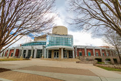 Watson Hall at the University of North Carolina School of the Ar. Ts on February 25,  2017 in Winston-Salem, North Carolina Royalty Free Stock Image