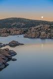 Watson jeziora księżyc w pełni Zdjęcie Stock