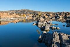 Watson Jeziorny odbicie w spadku Zdjęcia Royalty Free
