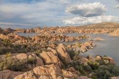 Watson Jeziorny Sceniczny krajobraz Zdjęcie Royalty Free