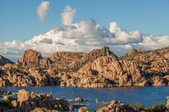 Watson Jeziorny Sceniczny prescott Arizona Zdjęcia Stock