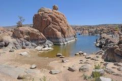 Watson jezioro, prescott, AZ Obraz Stock