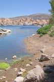 Watson jezioro, prescott, AZ - Sailboating Obrazy Stock