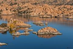 Watson jezioro w jesieni Obraz Royalty Free