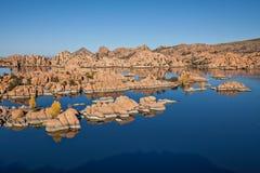 Watson jezioro w spadku Zdjęcia Royalty Free