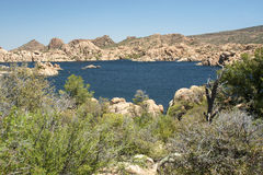 Watson Lake Royalty Free Stock Images