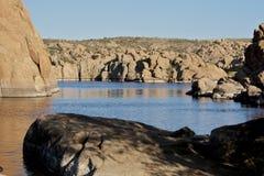 Watson Lake Royalty Free Stock Images