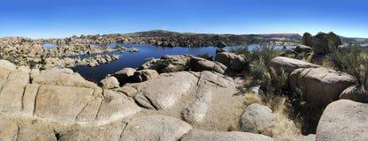 Watson lake Fotografia Royalty Free