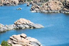 Watson lake Obraz Royalty Free