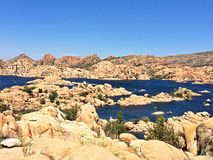Watson Lake. Prescott, Northern Arizona, mountains Royalty Free Stock Images
