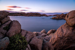 Watson Lake en Prescott Arizona Photos libres de droits
