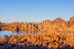 Watson Lake Landscape Prescott Arizona Royalty Free Stock Image