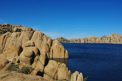 Watson Lake near Prescott, Arizona Stock Images