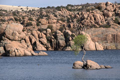 Watson Lake Park Arizona, USA Arkivfoto