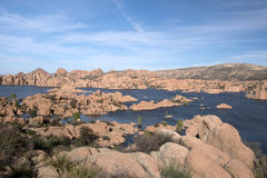 Watson Lake Park Arizona, USA Royaltyfri Foto