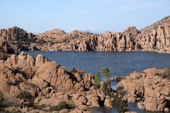 Watson Lake Park Arizona, USA Royaltyfri Bild