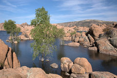 Watson Lake Park, Arizona, USA Royalty Free Stock Image