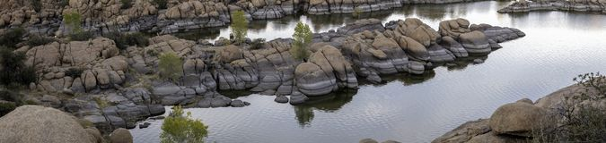 Watson Lake pittoresco vicino a Prescott Arizona fotografie stock