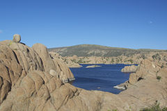 Watson lake Prescott Arizona Stock Images