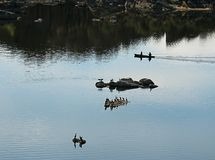 Watson Lake, Prescott, Arizona Stock Foto's