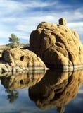 Watson Lake Prescott, AZ Arkivfoto