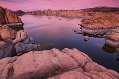 Watson Lake in Prescott, AZ Stock Foto's