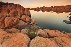Watson Lake in Prescott, AZ Royalty-vrije Stock Fotografie