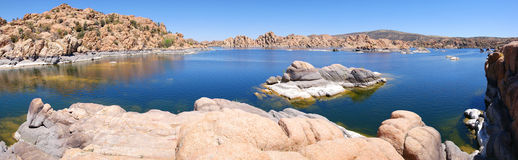 Watson Lake, Prescott, AZ Panorama Royalty Free Stock Photos