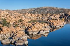 Watson Lake Reflection Royalty Free Stock Photography