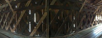 Watson Mill Bridge interno Fotos de Stock Royalty Free