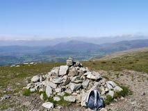 Watson`s Dodd summit, Lake District Stock Image