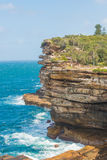 Watsons Bay. The Gap on a sunny day in Watsons Bay Sydney Royalty Free Stock Images