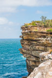 Watsons Bay. The Gap on a sunny day in Watsons Bay Sydney Stock Photography