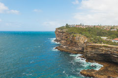 Watsons Bay. The Gap on a sunny day in Watsons Bay Sydney Royalty Free Stock Photo