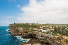 Watsons Bay. The Gap on a sunny day in Watsons Bay Sydney Royalty Free Stock Photography
