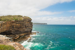 Watsons Bay. The Gap on a sunny day in Watsons Bay Sydney Royalty Free Stock Image