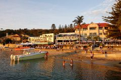 Watsons Bay at Sunset Royalty Free Stock Photo