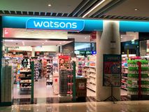 Watsons Store Royalty Free Stock Photos