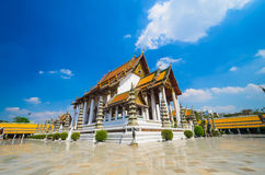 Watsuthat. Suthat temple in bangkok province Royalty Free Stock Photography