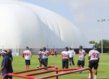 Watt di JJ al campo di addestramento di Houston Texans nel 2014 Fotografia Stock